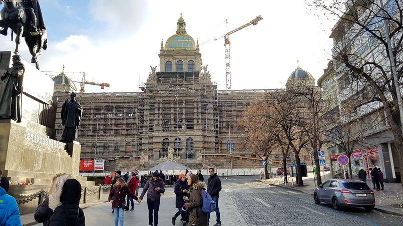Национальный музей (Národní Muzeum) в Праге.